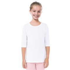 Kids  Quarter Sleeve Raglan Tee