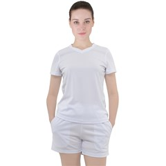 Women s Mesh Tee and Shorts Set