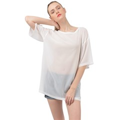 Oversized Chiffon Top