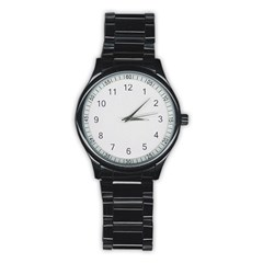 Stainless Steel Round Watch